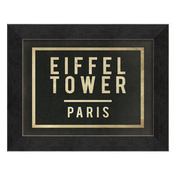 The Artwork Factory - 'Eiffel Tower Paris' Print - There'll always be Paris … even for the armchair traveler. This striking, museum-quality Eiffel Tower print is a ticket to revisit your memories or fondest dreams of the Champ de Mars.