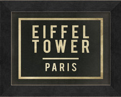 "The Artwork Factory - ""Eiffel Tower Paris"" Print - There'll always be Paris … even for the armchair traveler. This striking, museum-quality Eiffel Tower print is a ticket to revisit your memories or fondest dreams of the Champ de Mars."