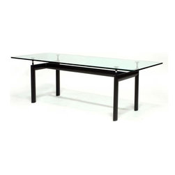 Fine Mod Imports - Dining Table with Black Base - Features