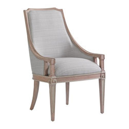 Stanley Furniture - Preserve-Maybank Host Chair - Transcend the ordinary with the Maybank Host Chair's unmatched comfort and vintage style.