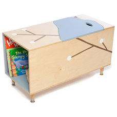 Modern Toy Storage by Mod Mom Furniture