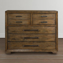 Compass Chest by Bassett Furniture - Compass represents the Casual Luxe design trend that works on both coasts and everywhere in between. The sophisticated design and finishes paired with knotty oak veneer brings an everyday softness to this collection.