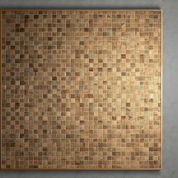 Reclaimed Wood Mosaic Home Products on Houzz