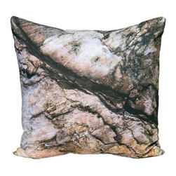 "Kuchi Kuu - St. Leonard Woodland Collection Artisan Pillow, 20"" x 20"" - Eco-friendly, artisan pillow covers are created from photographic images found in nature that are applied to organic cotton twill using water-based inks.  Pillow inserts are a 10/90 combination of down and feathers.  The pillow covers can be hand washed in cold water or dry cleaned."