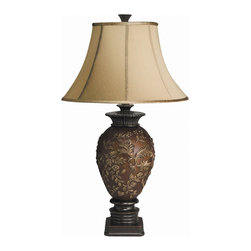 Kichler Lighting Tremont Table Lamp 1 Light Fluorescent Natural 70602CA - Sophisticated proportion and approach, Tremont makes a statement in almost any area. Unique enhancements to conventional decor, these collections are an luxurious manifestation of innovative design and long lasting style. These Kichler lamps feature elaborate designs and carvings brushed with gold.