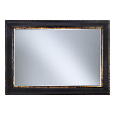 """Framed Goods - Wall Mirror 20X30 - Black Copper - Mirror Details: 20""""x30""""x3/16"""" Thick - 1"""" beveled"""