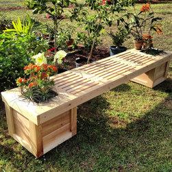 Planter Box & Gardening Bench -