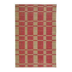 Safavieh - Indoor/Outdoor Thom Filicia 4'x6' Rectangle Indian Red Area Rug - The Thom Filicia area rug Collection offers an affordable assortment of Indoor/Outdoor stylings. Thom Filicia features a blend of natural Indian Red color. Handmade of Plastic the Thom Filicia Collection is an intriguing compliment to any decor.