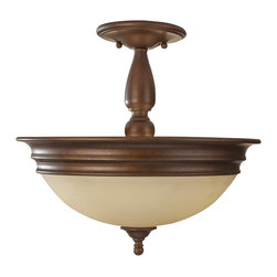 Murray Feiss - Murray Feiss Yorktown Heights Traditional Semi Flush Mount Ceiling Light X-ZBRP0 - Murray Feiss Yorktown Heights Traditional Semi Flush Mount Ceiling Light X-ZBRP013FS