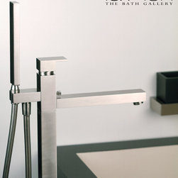 Featured Vendor - GESSI - The basic and pure beauty of rigorous rectangular forms entitle this luxury faucet to be an icon of design. This collection from GESSI has opened the way to the essential elegance of the squared and minimalist forms for bathroom furnishings.