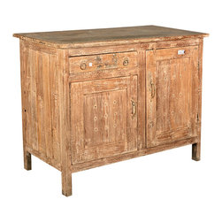 Sierra Living Concepts - Farmhouse Reclaimed Wood Potato Bin Bread Box Cabinet - If you don't have a cellar to store your produce, our Potato Bin Bread Box Cabinet will provide a wonderful rustic space.