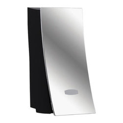 Wave Dispenser - Wave Soap Dispenser, Chrome - Sleek and elegant. The Wave Dispenser is ideal or use in the shower, by the vanity or even at the kitchen sink! Mount more than one Dispenser side by side to create a modern spa-like ambience, while keeping your shower liquids organized. Installs in minutes without tools, using waterproof silicone adhesive and 2-way tape (included).