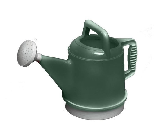 Bloem - Bloem 2.5 Gallon Deluxe Watering Can Midsummer Night Green DWC2-52 - Easy to handle and grip