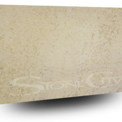 Fleur Cream Honed Limestone Slab -