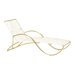 Walter Lamb Chaise - I think the only accessory that's worthy of this lounge is something by Neutra, Frey or Schindler.