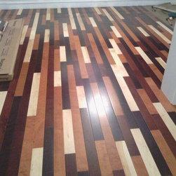 Mixed Maple Flooring Cincinnati - Carpetland Carpet One