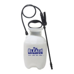 Chapin - Industrial Bleach Sprayer 1 Gallon or 4 Liters - Industrial Poly Bleach Sprayer. 1 Gallon or 4 Liters. Designed speciffically for cleaning mold algae and mildew. Great for cleaning up after floods and other natural disaster. Light weight and easy to use.