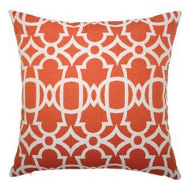 """New Elaine Smith Pillows - St. Bart's Gate Tomato - 20"""" x 20"""" Elaine Smith Pillows"""