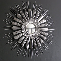 mirrors 4 Men 1 Lady: My new sunburst mirror.