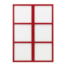K Hagberg/M Hagberg - LINNARP Glass door - Glass door, red