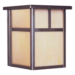 Maxim Lighting - Maxim Lighting 4050HOBU Coldwater Burnished Outdoor Wall Sconce - 1 Bulb, Bulb Type: 100 Watt Incandescent