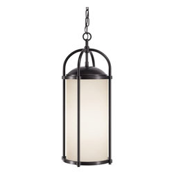 Murray Feiss - Murray Feiss Dakota Transitional Outdoor Hanging Light X-SE1167LO - Transitional Outdoor Hanging Light by Murray Feiss reinvented the lantern style. The Dakota Collection comes with a new design approach by adding clean lines and traditional forms to this decorative and charming lighting fixture. The Aged Oak glass shade in combination with the Espresso finish makes up for an overall stunning lighting fixture to add to your home.