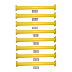 Eastern Jungle Gym - Eastern Jungle Gym Steel Monkey Bar Ladder Rungs 15.13 in. Long - Set of 8 Multi - Shop for Swings Slides and Gyms from Hayneedle.com! To aid climbing heights that children may need help with introduce kids to the Eastern Jungle Gym Set of 8 Yellow Steel Monkey Bar Ladder Rungs 15.13 in. Long. These ladder rungs are made of solid steel with a bright yellow powder-coated finish. Providing kids with a great activity for playtime these ladder rungs make a wonderful addition to playhouses and swing sets. Made available in four pairs these ladder rungs come with all the necessary mounting hardware.
