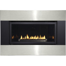 Modern Indoor Fireplaces by Shop Chimney