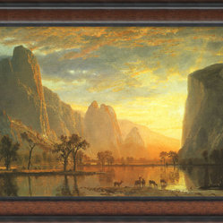 Valley of the Yosemite, 1864 Framed Print by Albert Bierstadt