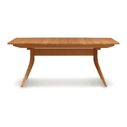 Copeland Furniture | Catalina Trestle Extension Table, 60 X 40 Inches -