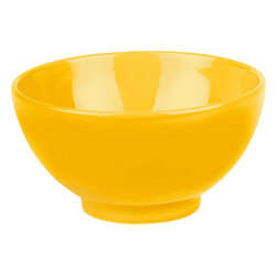 Waechtersbach - Set of 4 Soup and Cereal Bowls Fun Factory Buttercup - Bring contemporary style to your table with Fun Factory Buttercup Soup/Cereal Bowls. These all-purpose bowls are perfect for a quick breakfast, full dinner, or ice cream treat. Combining classic coupe shape with solid color, these durable ceramic bowls were created with everyday meals in mind.
