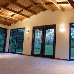 bespoke cabins - Timber Framed Cabin - Stom Design