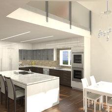 Modern Kitchen by ILAD Architecture + Design