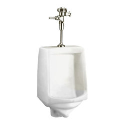 American Standard - American Standard 6561.017.020 White Urinal - This low-consumption urinal uses just 1.0 gallon per flush. Features include a flushing rim and siphon-jet flush action for effectiveness, and extended sides for privacy. Its versatile design could work well in traditional and casual commercial environments.