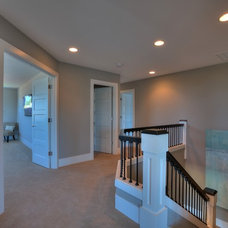 Traditional Hall by Signature Custom Homes