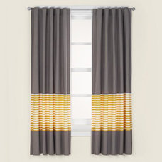 contemporary curtains by The Land of Nod
