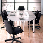 Modern Home Office Transitional Home Office New
