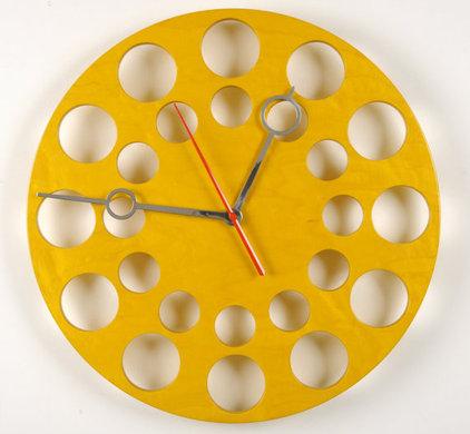 Modern Clocks by Etsy