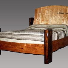 Contemporary Beds by Earl Nesbitt Fine Furniture