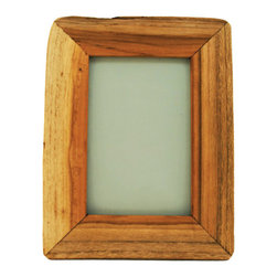 Reclaimed Wood Frame - We get so caught up in perfection that it's a breath of fresh air to find something that's imperfect. This wood frame is made of reclaimed wood and has a rustic, natural honesty that will make your photos unique.
