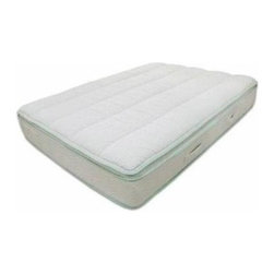 Keetsa - The Keetsa Pillow Plus - Pillow Top Mattress - Choose Size: California King11-Inch pillow top coil. iCoil mattress with nicely cushioned plush pillow top for incredible comfort. iCoils are independent coils that support every part of your body with the perfect amount of supple, responsive flex. Less motion transfer from sleep partners. Consists of BioFoam: Memory Foam made with a blend of natural and synthetic materials. We replace portion of the synthetic with plant oil, to reduce the dependency on chemical and emissions of harmful off-gassing. . EverGreen, made from all-natural green tea, is embedded into the memory foam for long-lasting natural odor control.. Unbleached, 100% organic cotton cover with channel quilting that is stuffed with wool and microfibers. Durability tested exceed industrial standards. Complies with the Federal fire safety standard of 16CFR1633. Free of PBDEs. Certified organic cotton cover. Twin: 75 in. L x 39 in. W. Full: 75 in. L x 54 in. W. Queen: 80 in. L x 60 in. W. King: 80 in. L x 76 in. W. California King: 84 in. L x 72 in. WNo. of iCoil count. Twin: 450. Full: 630. Queen: 768. King: 960. California King: 1015Soft Like A Pillow With Coil Support. Keetsa Mattresses are world-class quality with affordable prices because of the unique packaging that enables us to reduce the freight costs. This packaging also helps to substantially reduce the carbon foot print.