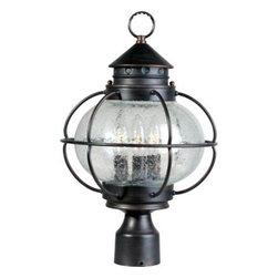 Maxim Lighting - Maxim Lighting 30500CDOI Portsmouth 3-Light Outdoor Pole/Post Lantern - Features