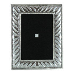 Sterling Silver Picture Frame Great Breeze, 5x7 - -Made from .950 Peruvian sterling silver