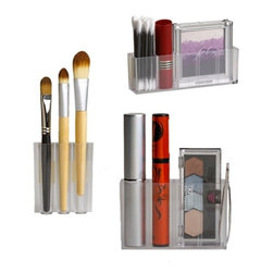 MagnaPods Magnetic Cosmetic Organizers - I love that these hanging magnetic holders can contain my makeup brushes while taking up little space.