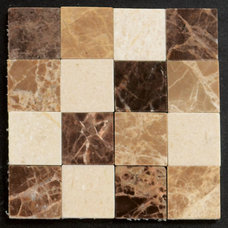 Contemporary Tile by CoverQUIK Tile
