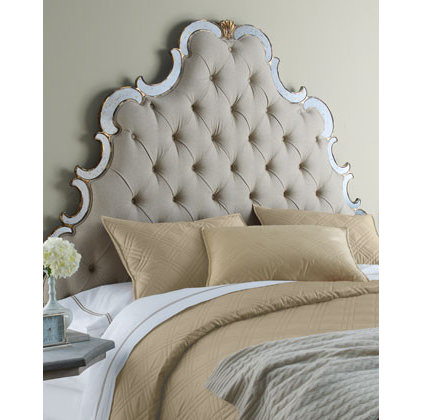 eclectic headboards by Neiman Marcus