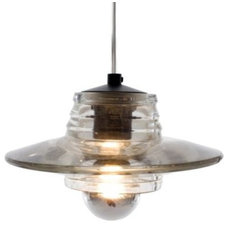 Pendant Lighting Pressed Glass Pendant - Lens by Tom Dixon