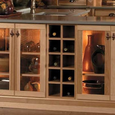 traditional  by Crown Cabinets
