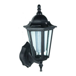 Pier Surplus - Wall-Mounted Solar Lantern #SO30073 - Solar Lights are a perfect way to enhance safety, nighttime aesthetics, accessibility, and beauty to your yard. Using high quality materials, our solar lights will provide durability and long life for whether being used for a special occasion or light up your flower bed.