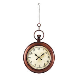 Sterling Industries - Sterling Industries 128-1006 Antique Reproduction Hanging Clock - Clock (1)